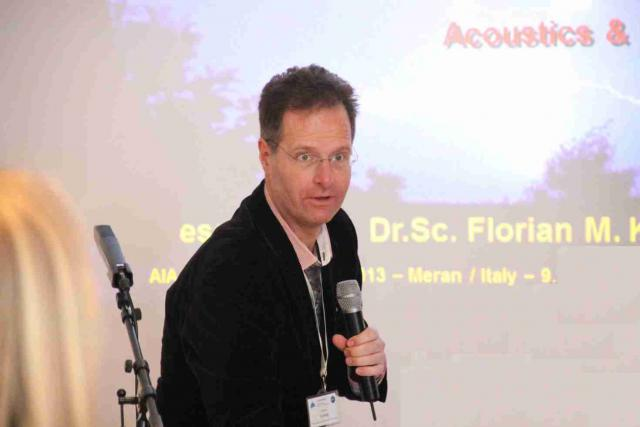 Pro-Active held lecture due to Biofeddback body reactions on EMF & Acoustics; www.aia-daga.eu